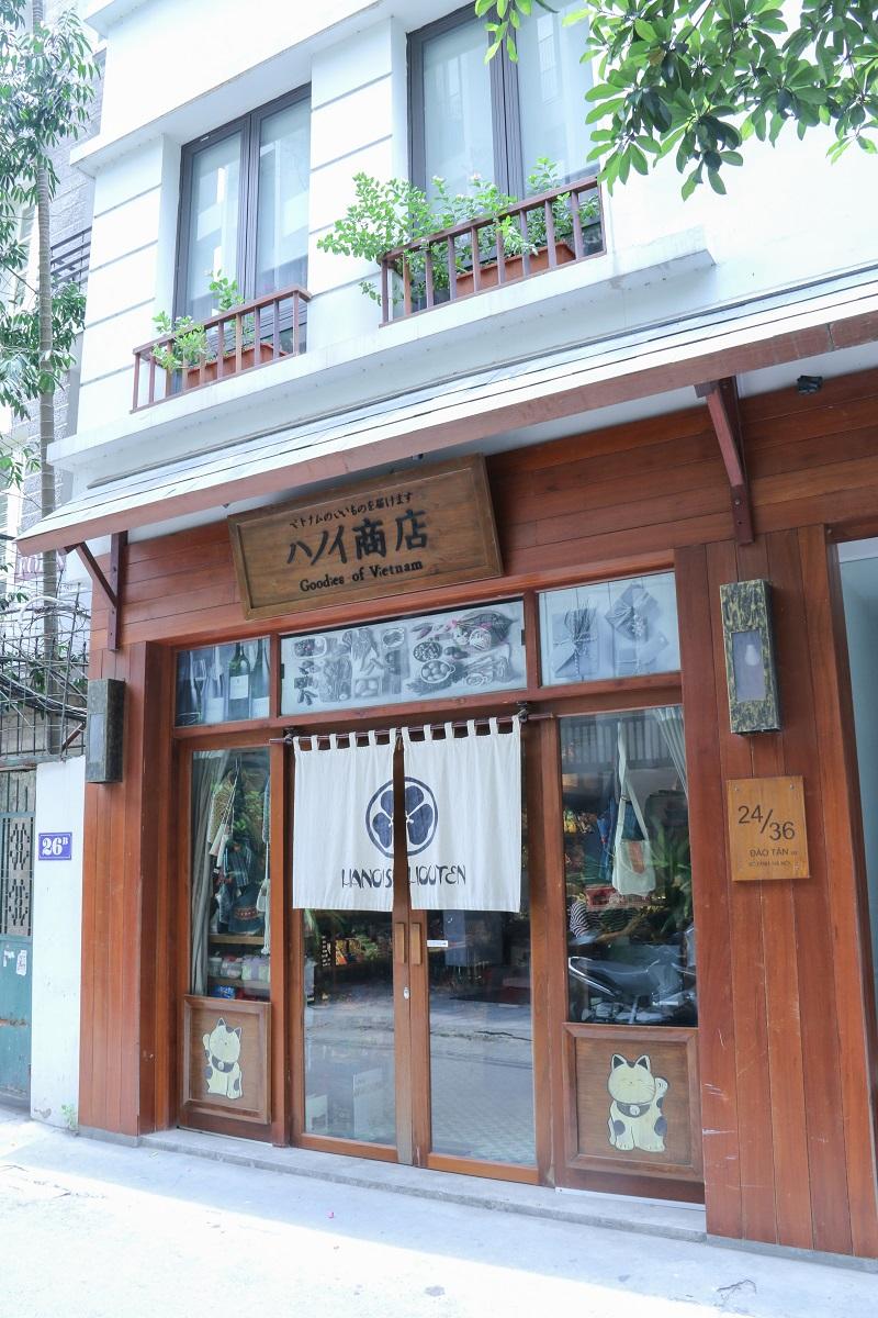 Cửa hàng thực phẩm đồ Nhật Hanoishouten
